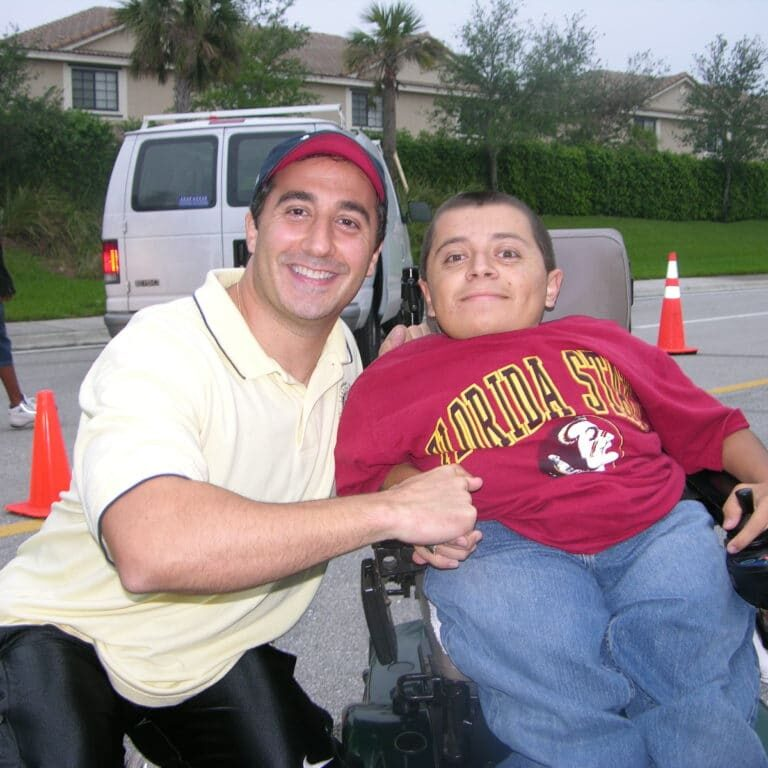 anthony j. russo jr. and rotary club of weston beneficiary cesar lucero 1024x768 1