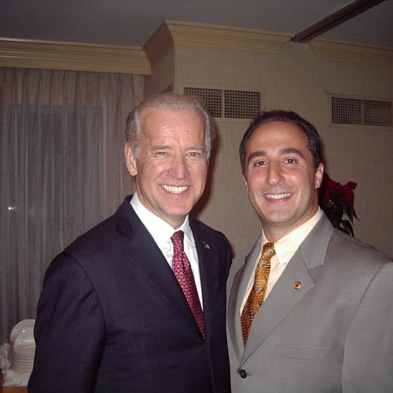 partner anthony j. russo jr. u.s. senator joe biden at biden fundraiser 12 05 1024x768 1