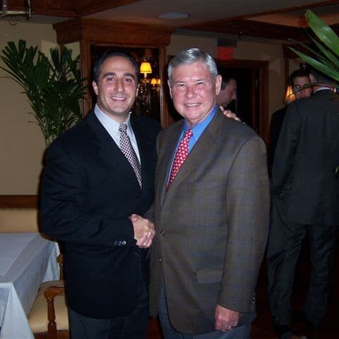 partner anthony j. russo senator bob graham at committee for fair elections fundraiser dinner